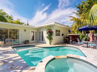 NEW LISTING! Newly remodeled cottage w/private pool and easy beach access.