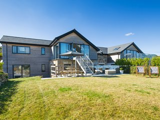 Stunning Reverse level new home in Carbis Bay with spectacular seaviews