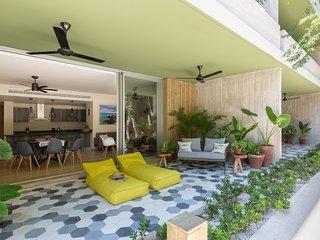 Casa del Agua | Gorgeous 2 BR Apartment with a Cenote in your back at Aldea Zama