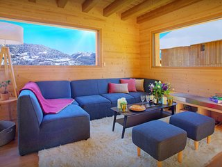 Stylish Valmorel chalet for 10 - sauna and sunny terraces - OVO Network