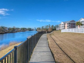 Beautiful Waterways Views & Extended Balcony!