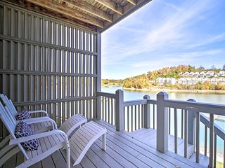 NEW! Waterfront Condo on Norris Lake w/Boat Slip!