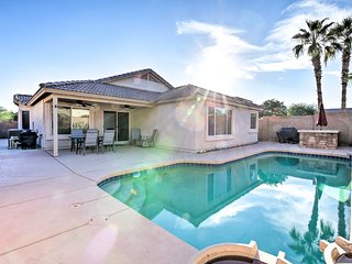 Luxury Phoenix Area Home w/Heated Pool & Patio!