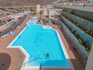 Luxury apartment next to swimming pool