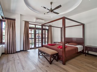 #VillaCalangute Phase 12- 5BHK House with an Open to Sky Bathroom, Carom Board