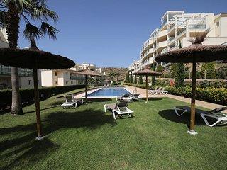 apartamento de lujo 130m2 (Mijas Costa) Golf, mar y montaña con amplia terraza