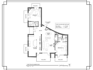 The Lincoln 503-2 Bed, 2 Bath Flagship Luxury Apartment