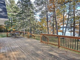 Beautiful Pioneer Lake! 7 private acres to enjoy.