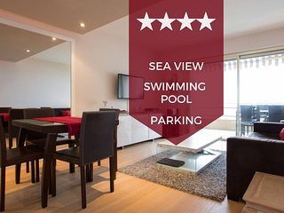 ☀ Facing the sea ❤ magic view - swimming pool, terrace and private parking☀