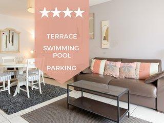 ☀️ 1-bedroom in Cannes Croix des Gardes area ☀️ Terrace, swimming & parking