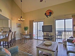 NEW! Beachfront Gulf Shores Condo w/Balcony & Pool