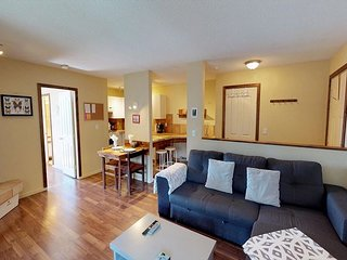 Tamarack 308, one bedroom cozy vacation rental, close to Big White's Mountain
