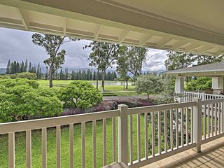 Princeville Condo w/ Mountain & Golf Course Views!