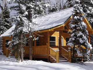 Cozy, waterfront cabin near National Forest w/ bridge & private hot tub