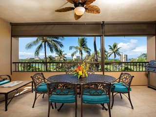 Remodeled condo on golf course w/ ocean view, lanai & shared pool/hot tub/tennis