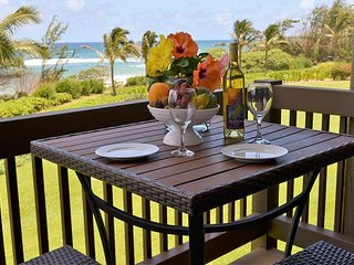 Oceanfront, Ocean-View, Steps to Beach, Kaha Lani Resort, Near Wailua Golf