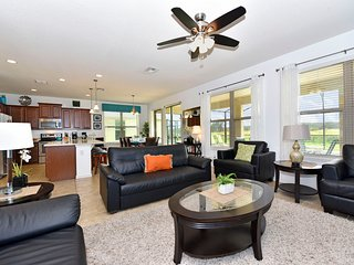 Home near Disney & Beach w/ WiFi, Pool, Gameroom, Spa, Resort Pool, Tennis & Gym