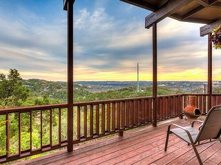 A King's View of Hill Country: Scenic Home w/ End-to-End Deck