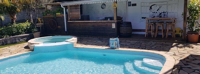 T2 avec piscine chauffée
