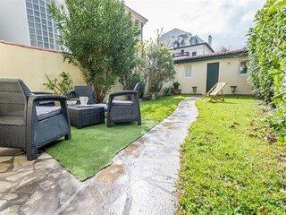 Biarritz Jardin Public maison de ville avec jardin et wifi gratuit.