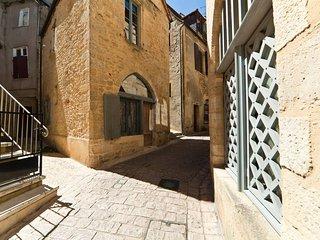 Maison de charme dans la cité médiéval