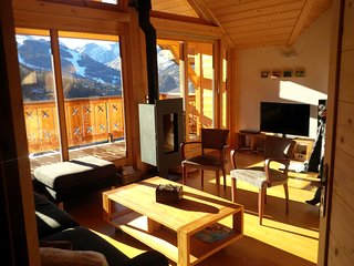 Coup de coeur : appartement 8 personnes, chaleureux, calme, vue exceptionnelle !