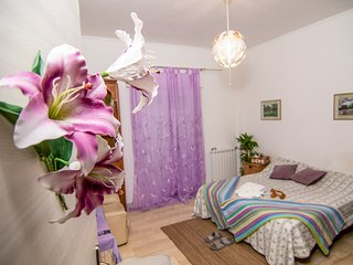 Flower boutique rooms in Rome - Lilla room