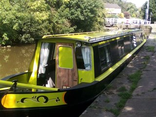 NarrowBoat Ellis Belle on the Historic and Stunning Leeds Liverpool Canal