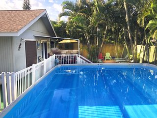 4B/3B,Gated Pool,Hot Tub, huge lani, A/C, Great location.,
