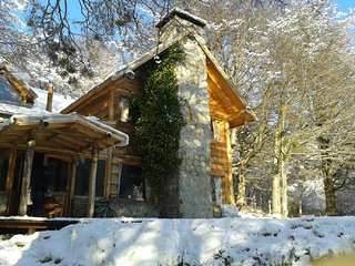 Wooden cabin at 10 minutes from Solden Ski Center