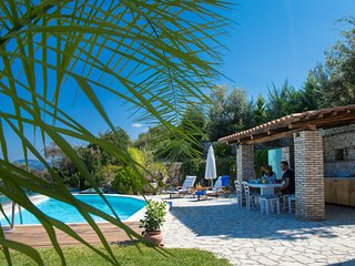 VILLAS DANAE - Nested on Lefkada Town Hill