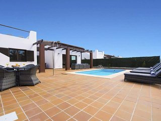5 star luxury villa, private pool, golf & sea views.