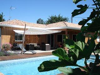 villa bois bassin Arcachon