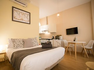 Charming studio with double bed and balconies near Calle Larios