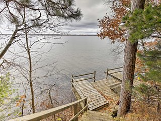 NEW! Grindstone Lake Waterfront Home w/Dock & Deck