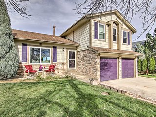NEW! Colo Springs Home 5 Mins to Cheyenne Mtn & DT