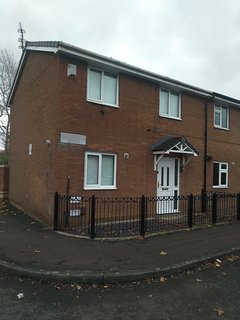 Two storey semi-detached house for up to 6 people