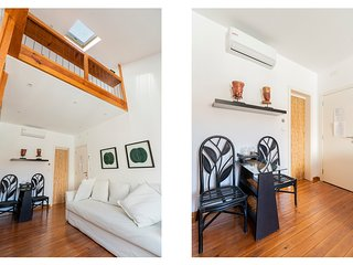 Relaxing Vibe Deco Mezzanine flat for 2