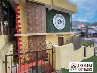 Tree Leaf Cottages | Bhowali 3 BHK Luxury Villa 12 Km outside Nainital