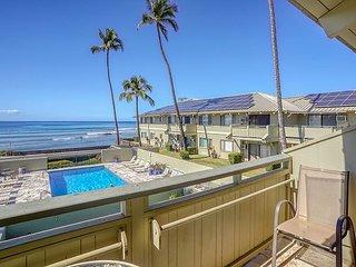 Shores of Maui #211 1Bd/1Ba Ocean View, Cove Beach, Best Location! Sleeps 5