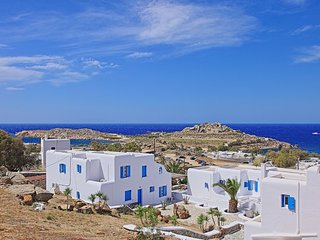 Maganos DekaTessera:Traditional one bedroom apt, for 2 persons, enjoys a shared