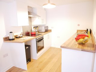 Nordic Apartment in Ulverston Town Centre (Double or Twin Beds)