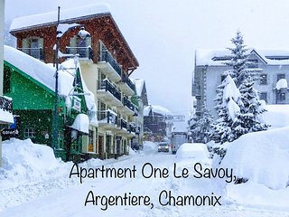 Apartment One Le Savoy, Argentiere, Chamonix
