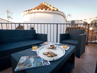 Larios Penthouse duplex with terrace solarium in Larios Street, close port and b