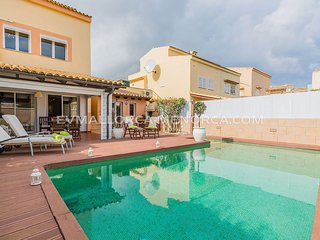 3 bedroom Villa in Alcudia, Balearic Islands, Spain : ref 5624672