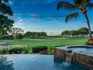 Hualalai 'Maluhia Hale' renovated ~ panoramic views~private pool, + spa