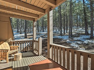 NEW! Rustic Condo - Walk to Angel Fire Resort!