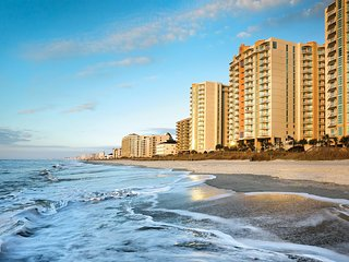 Myrtle Beach, SC: 2 BDRM Beachfront High-Rise Resort w/Pool, Beach & Ocean Views