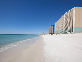 Spacious Gulf Front Condo with Amazing Views and Steps from the Sugar Sand Beach