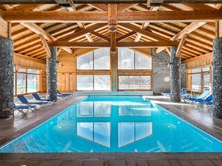 Acces Piscine + Sauna | Appartement cosy a 350m des remontees